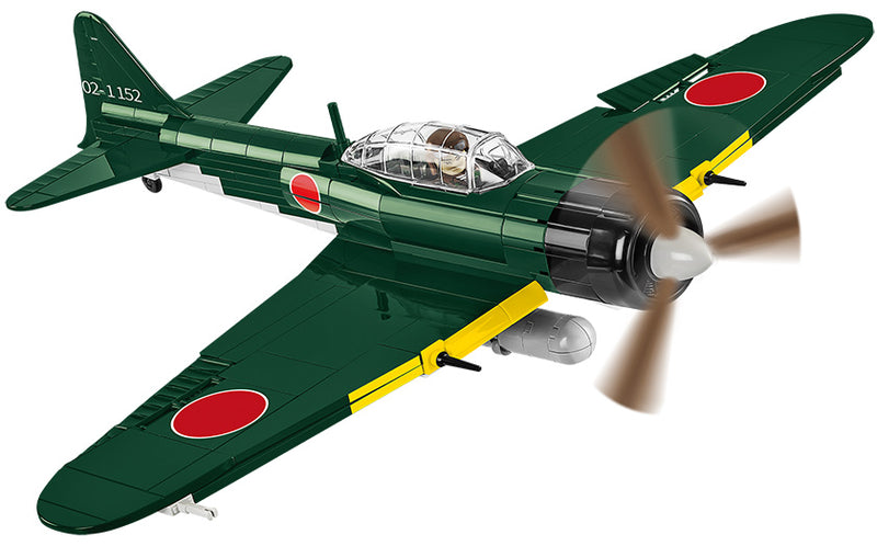 "Mitsubishi A6M5 ""Zero"", 280 Piece Block Kit"