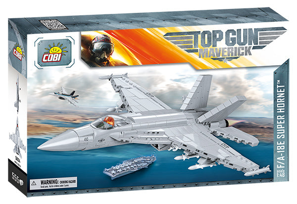 Top Gun Maverick Boeing F/A-18E Super Hornet 555 Piece Block Kit By Cobi