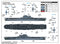 USS Enterprise Aircraft Carrier CV-6,1:700 Scale Model Kit Paint Guide