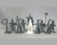 Early Imperial Roman Command 27 BC – 476 AD, 60 mm (1/30) Scale Plastic Figures