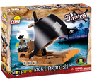 Jack's Pirate Ship 140 Piece Block Kit By Cobi