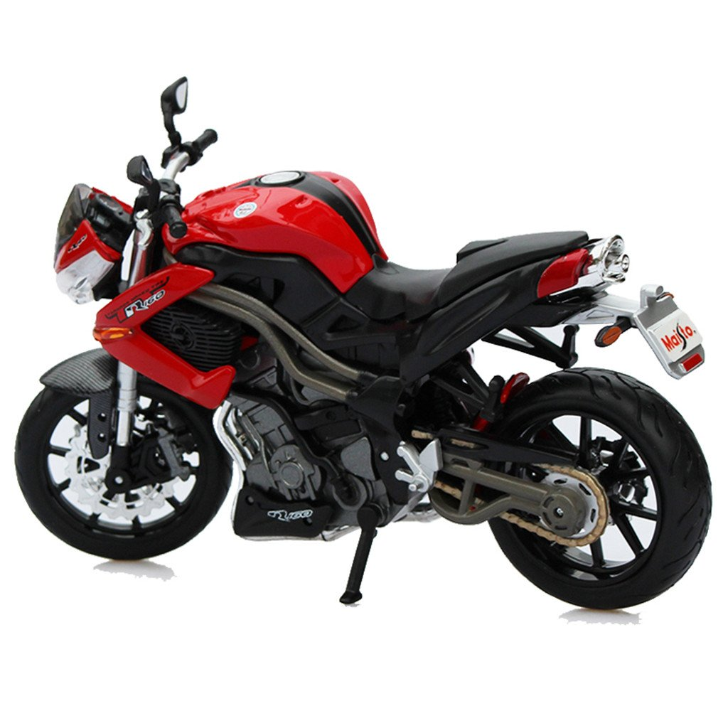 Benelli Tornado Naked Tre (TnT) R160 1:12 Scale Motorcyle Model By Maisto