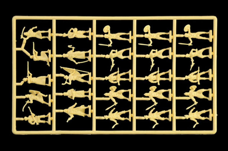 Arab Warriors Colonial Wars 1/72 Scale Plastic Figures Sprue 2