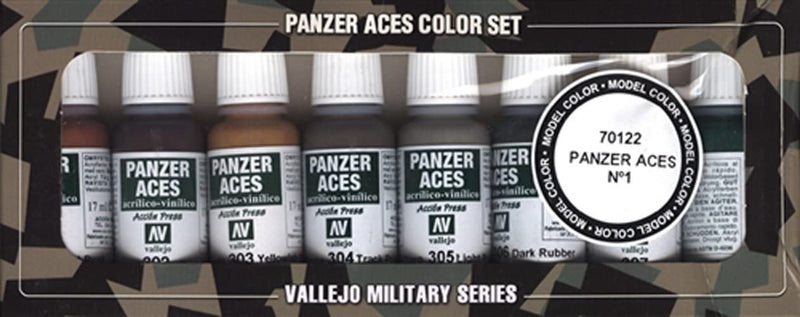 Panzer Aces Color Set