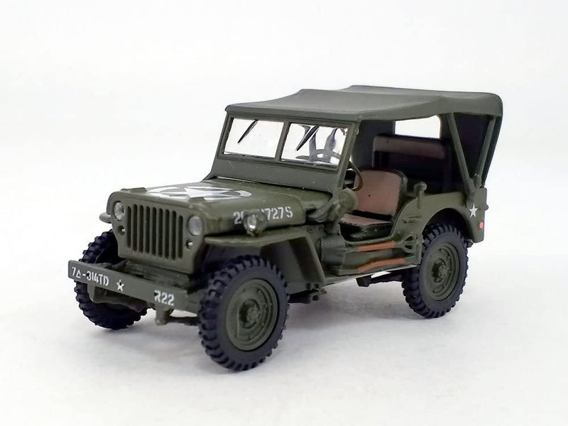 Willys MB Jeep 4 X 4 1:43 Scale Model By Cararama