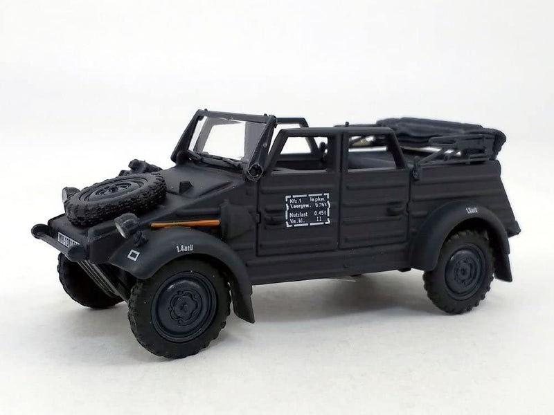 Volkswagen Kübelwagen K Type 82 Convertible (Black) 1:43 Scale Model