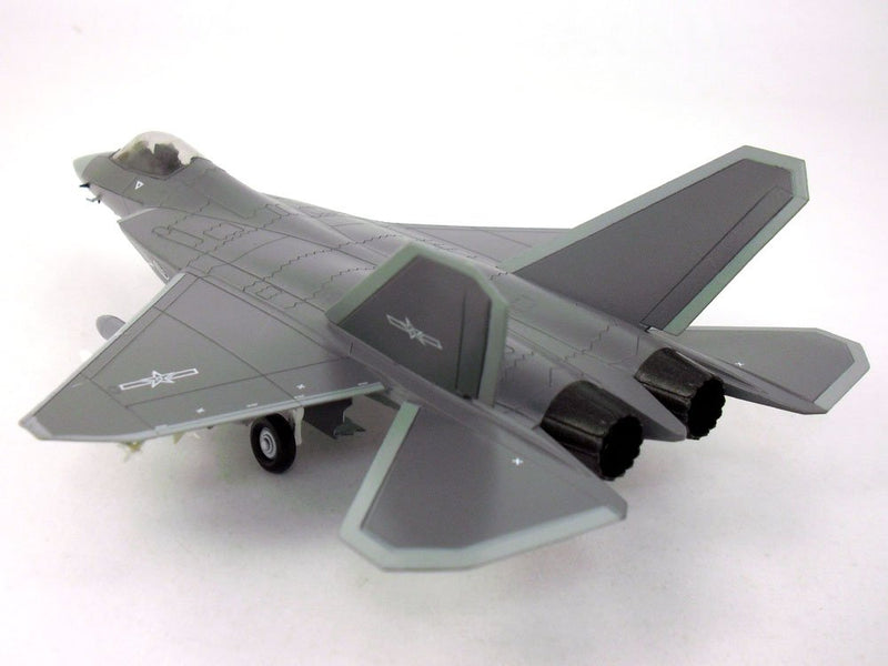 Shenyang J-31 Gyrfalcon 1:72 Scale Model By Air Force 1 Left Rear View