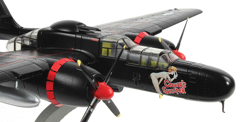 "Northrup P-61B Black Widow "" Cooper's Snooper 1/72 Scale Model By AF1 Right Front Detail View"