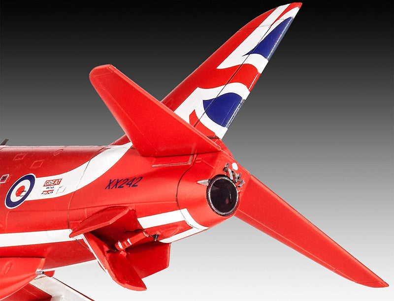 BAE Systems Hawk T1 Red Arrows 1/72 Scale Model Kit Tail Details