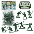 Robin Hood And His Merry Men 1/30 Scale Plastic Figures By LOD Enterprises