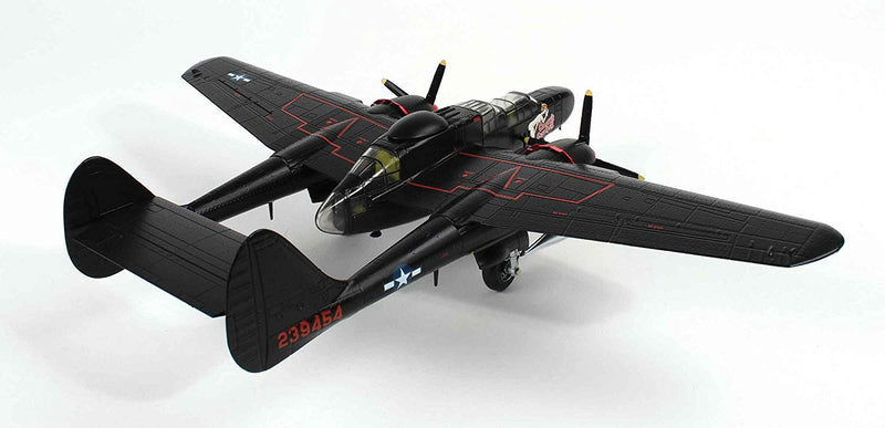 "Northrup P-61B Black Widow "" Cooper's Snooper 1/72 Scale Model By AF1 Right Rear View"