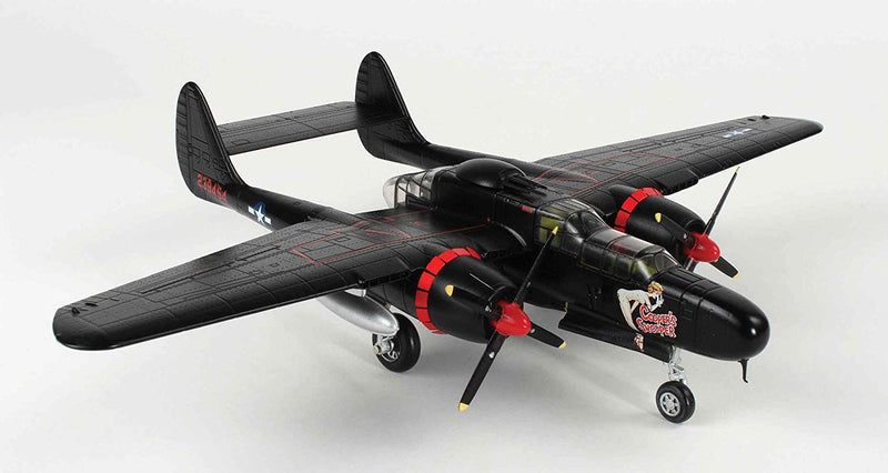 "Northrup P-61B Black Widow "" Cooper's Snooper 1/72 Scale Model By AF1 Right Front View"