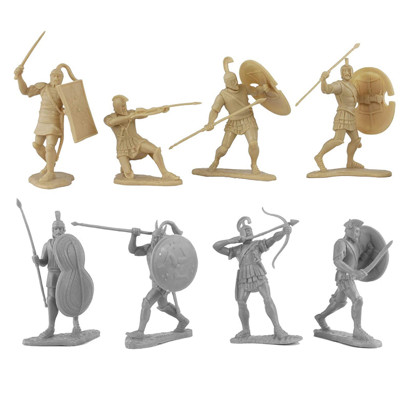 War At Troy Figure Set 1B (Greeks vs Trojans) 1/30 Scale Plastic Figures By LOD Enterprises