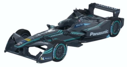 Jaguar Racing Formula E 1:76 Scale Model By Oxford Diecast
