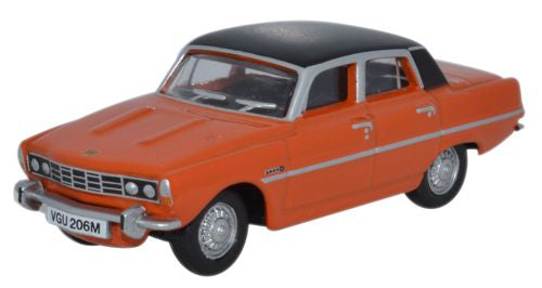 Rover P6 Mk II 1970 Paprika 1:76 (00) Scale Model By Oxford Diecast