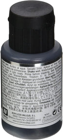 Metal Color Magnesium Acrylic Paint, 32 ml Back Of Bottle By Acrylicos Vallejo