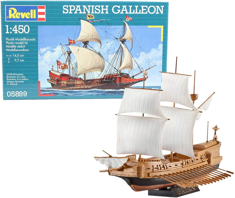 Spanish Galleon 1/450 Scale Model Kit By Revell Germany
