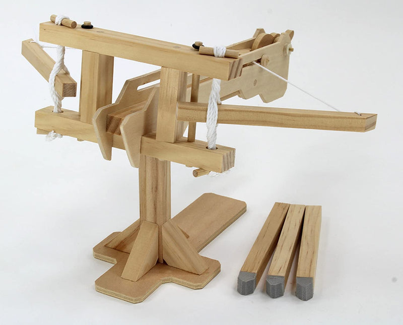 Roman Ballista Wooden Kit By Pathfinders Design Front View