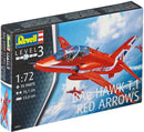 BAE Systems Hawk T1 Red Arrows 1/72 Scale Model Kit Box Front