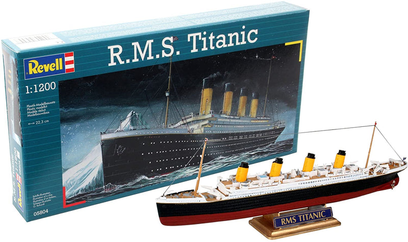 RMS Titanic 1/1200 Scale Model Kit By Revell Germany