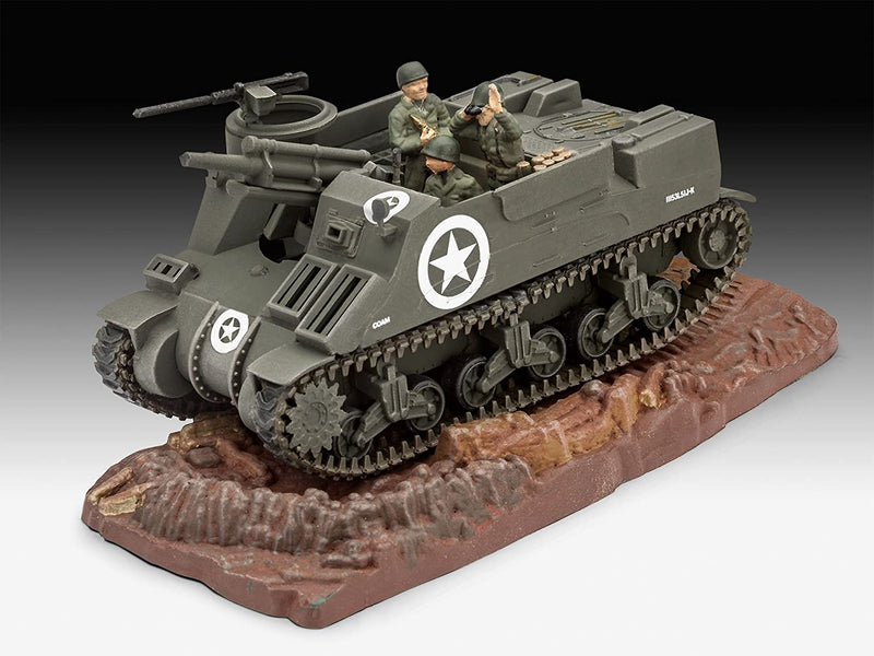 M7 HMC Priest 1/76 Scale Model Kit