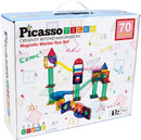 Marble Run 70 Piece Magnetic Building Block Kit By Picasso Tiles