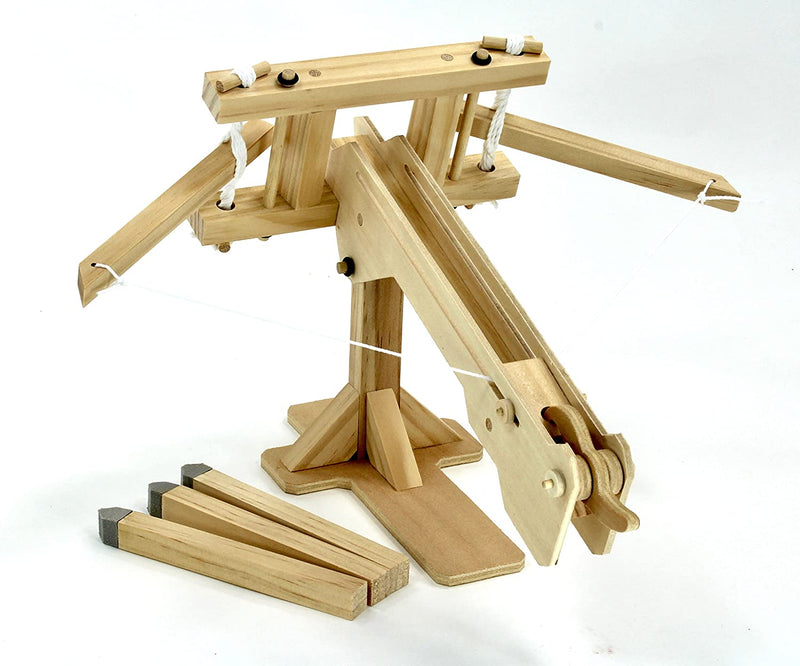 Roman Ballista Wooden Kit By Pathfinders Design Rear View