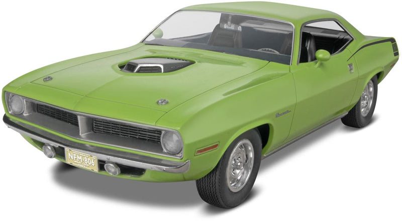 Revell 1970 Plymouth HEMI Cuda 1/25 Scale Model Kit
