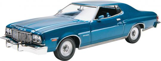 1976 Ford GranTorino 1:25 Scale Model Kit By Revell