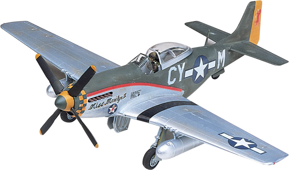 North American P-51 Mustang 1/48 Scale Model Kit By Revell