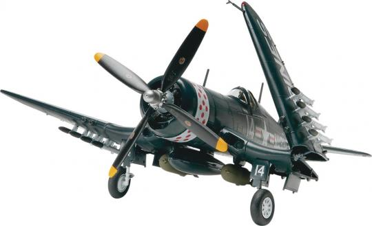 Vought F4U-4 Corsair, 1:48 Scale Model Kit By Revell