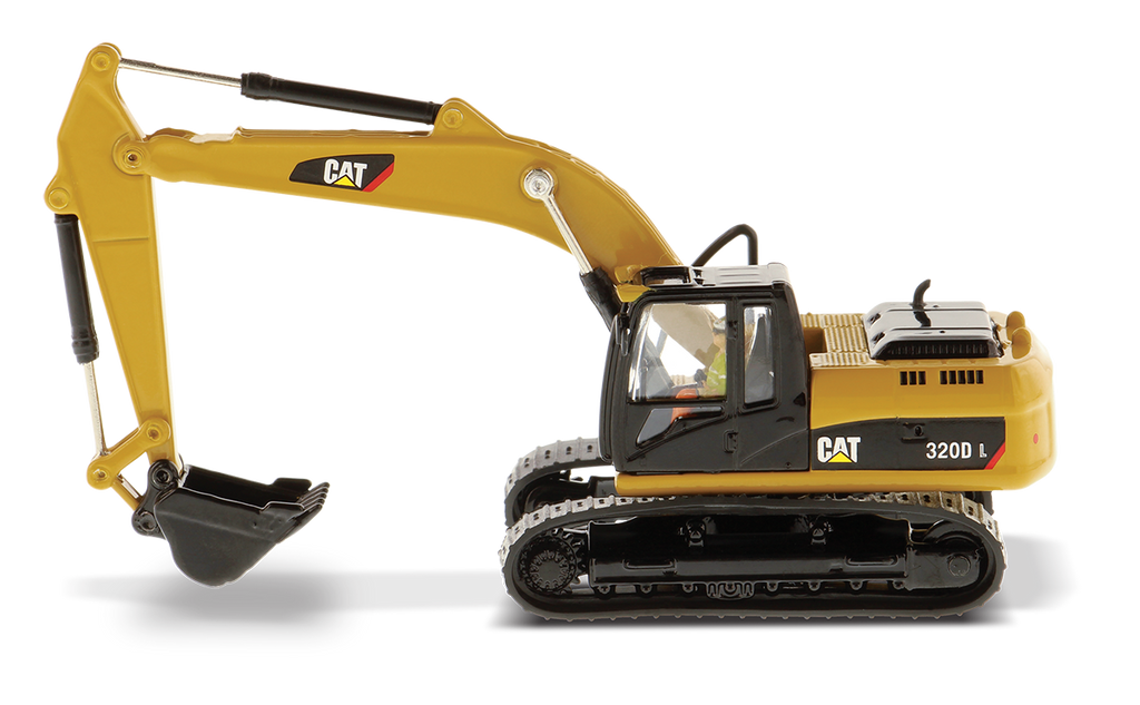 Caterpillar 320D L Hydraulic Excavator 1:87 (HO) Scale Model By Diecast Masters