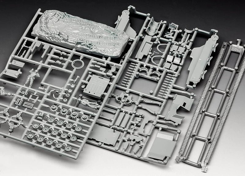 M7 HMC Priest 1/76 Scale Model Kit Sprue