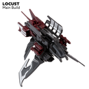 Snap Ships Locust K.L.A.W. Stealth Craft Kit By PlayMonster