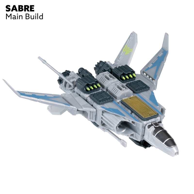 Snap Ships Sabre X-23 Interceptor Kit By PlayMonster
