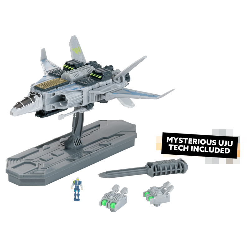 Snap Ships Sabre X-23 Interceptor Kit Contents