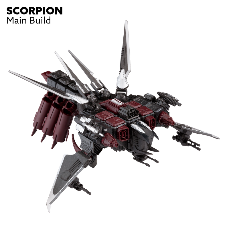 Snap Ships Scorpion K.L.A.W. Troop Dropper Kit Alternate Build 1