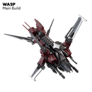 Snap Ships Wasp K.L.A.W. Heavy Fighter Kit By PlayMonster