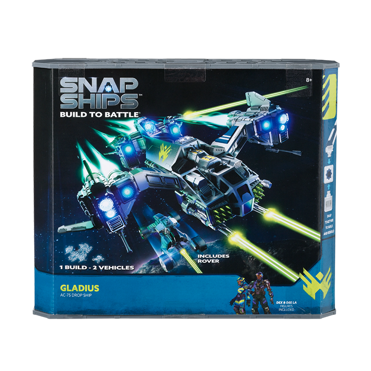 Snap Ships Gladius AC-75 Drop Ship Kit Box Front