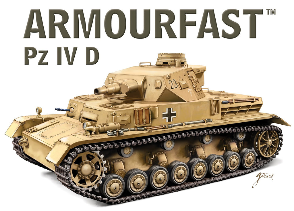 Panzer IV Ausf. D 1/72 Scale Model Kit By Armourfast