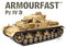 Panzer IV Ausf. D (2) 1/72 Scale Model Kit By Armourfast