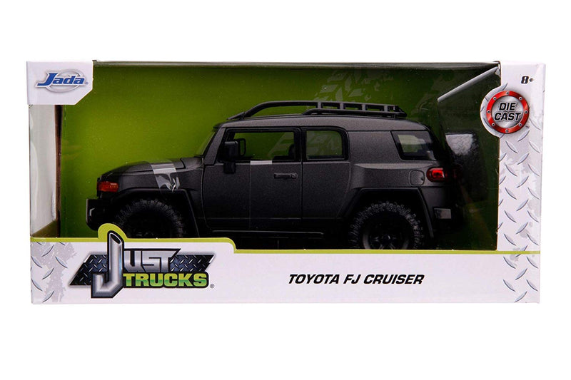 Toyota FJ Cruiser (Charcoal Gray) 1:24 Scale Diecast Car By Jada Toys In Box