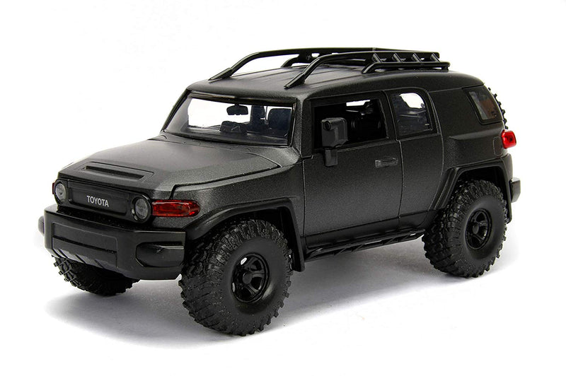 Toyota FJ Cruiser (Charcoal Gray) 1:24 Scale Diecast Car By Jada Toys