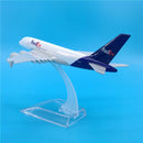 Airbus A380 Freighter Fed Ex 1:400 Scale Model By Hyinuo Left Rear View