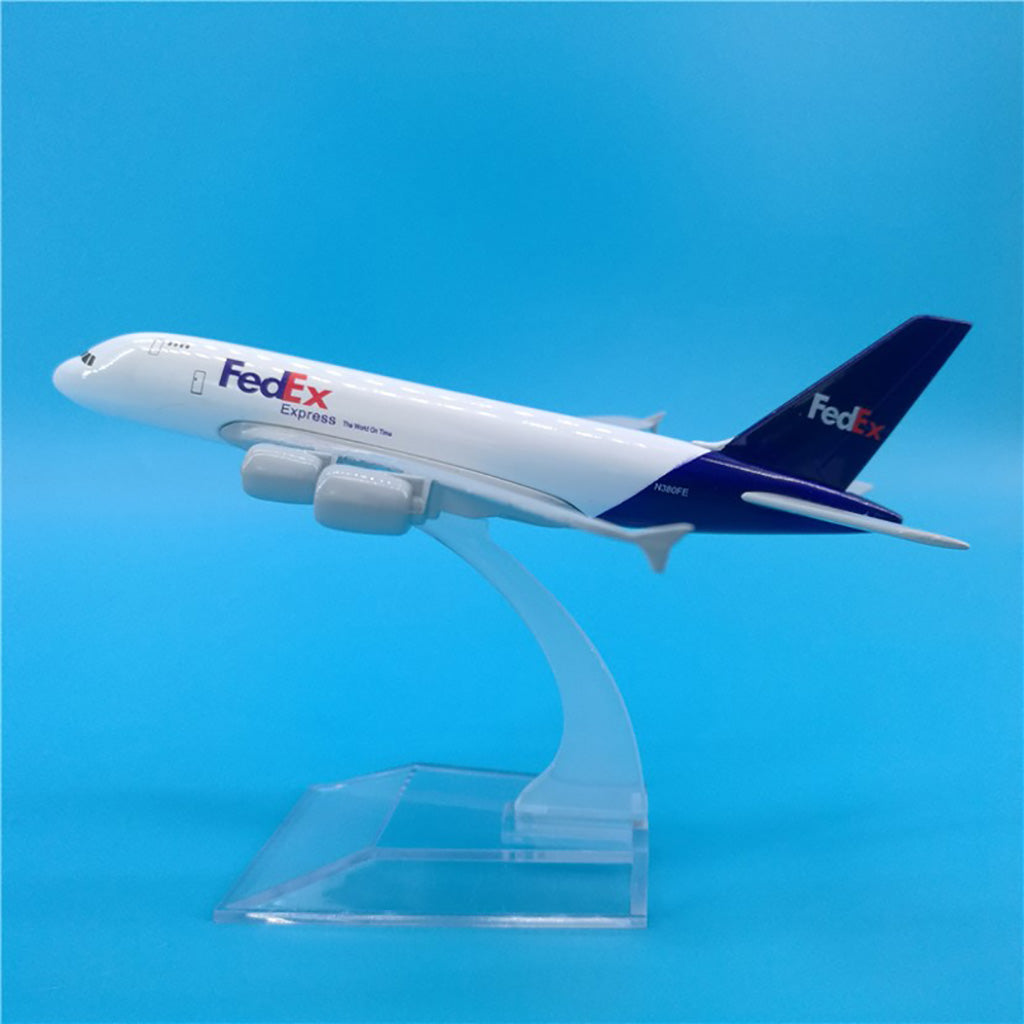 Airbus A380 Freighter Fed Ex 1:400 Scale Model By Hyinuo
