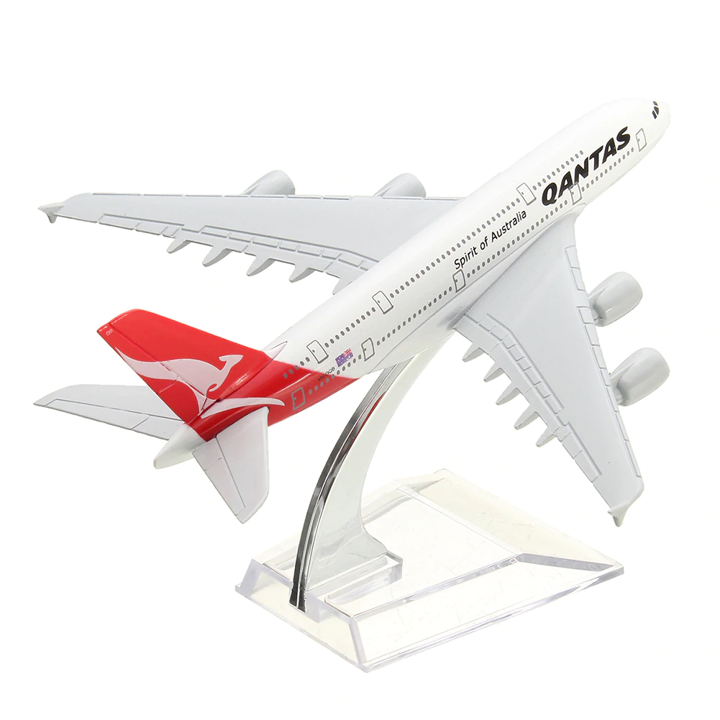 Airbus A380 Quantas 1:400 Scale Model By Hyinuo Right Rear View