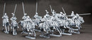 Agincourt Mounted Knights 1415-1429, 28 mm Model Plastic Figures Kit
