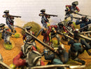 American War Of Independence British Regular Army 1/30 Scale Model Plastic Figures By LOD Enterprises Painted