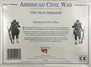 American Civil War Union Army Iron Brigade 1/32 (54 mm) Scale Model Plastic Figures By A Call To Arms Back Of Box