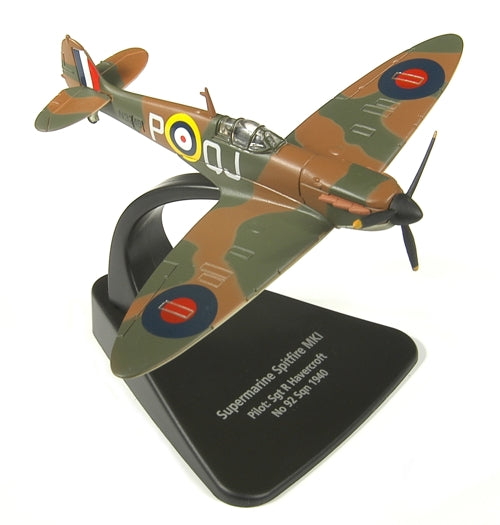 Supermarine Spitfire MK I 1940,1:72 Scale Model By Oxford Diecast